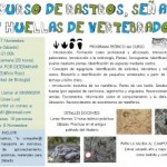 Segunda edición del IV curso de rastros, señales y huellas de vertebrados