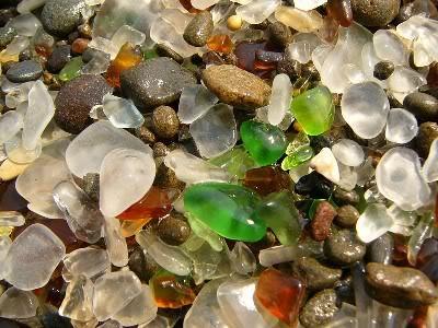 Playa de los cristales (Asturias)