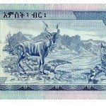 La biología en tu cartera. El billete de Etiopía.