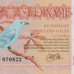 La Biología en tu cartera: Tangara azulada de Surinam