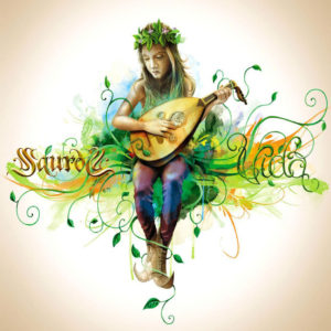 """Portada del 7º álbum de estudio de los gaditanos Saurom, titulado """"Vida"""". En este disco, de corte conceptual, se incluye la canción """"Íntimos Recuerdos""""."""