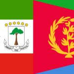 Banderas con Botánica: Guinea Ecuatorial y Eritrea