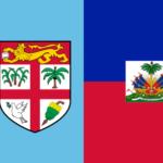 Banderas con Botánica: Fiyi y Haití