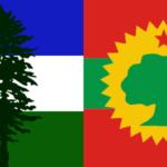 Banderas con Botánica: Cascadia y Oromo