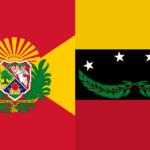 Banderas con Botánica: Aragua y Táchira