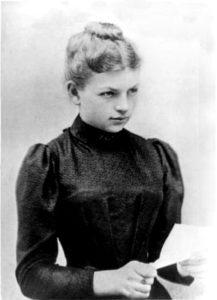 Imagen de la química nacida en Polkendorf Clara Immerwahr, a la que su condición de mujer le entorpeció una prometedora carrera cientifica. Una mente brillante que la sociedad de su época no supo aprovechar.