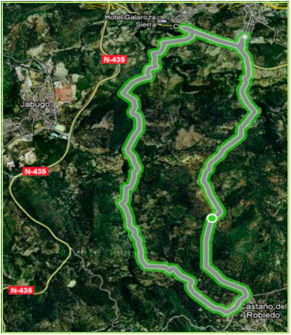 Ruta Galaroza - Castaño del robledo - Galaroza (Wikiloc.com)