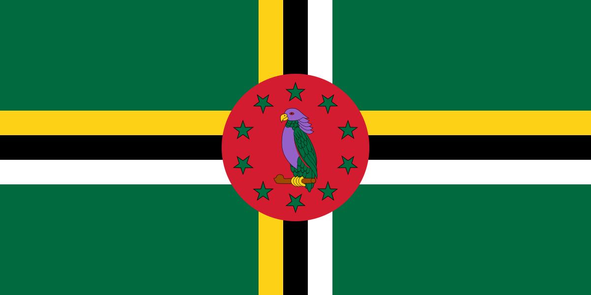 Bandera de Dominica